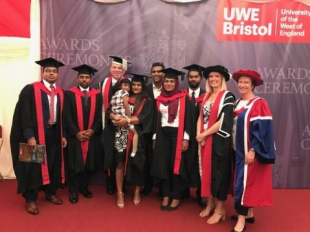 Villa College students graduation